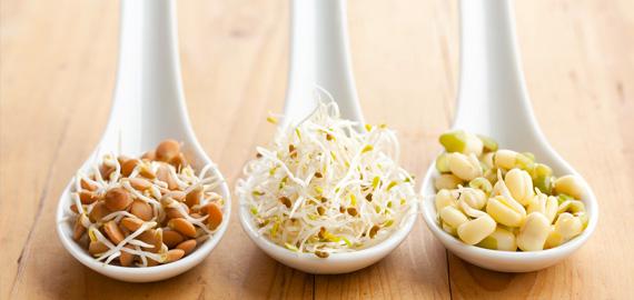 Энергетические батончики с проростками зеленой гречки – кулинарный рецепт