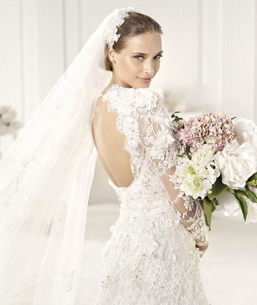 19c91ce6f43 Свадебное платье-2014 – это совершенно конкретные новые коллекции